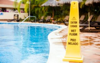 Public pools can have slip and fall liability
