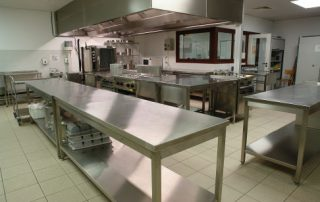 Commercial kitchens have a high risk of slip and fall
